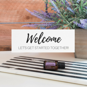 doterra welcome post